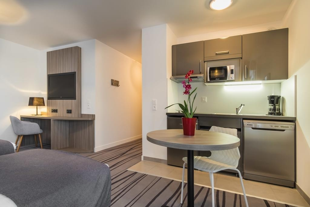 chambre-double-appartement-hôtel-le-mans