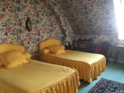 chambre-twin-château-le-mans