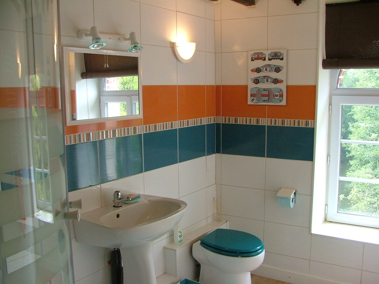 Private_bathroom_guesthouse_24h_lemans_b&b